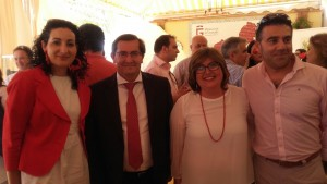 Pepe Entrena, Ana Muñoz y Hechizo Andaluz
